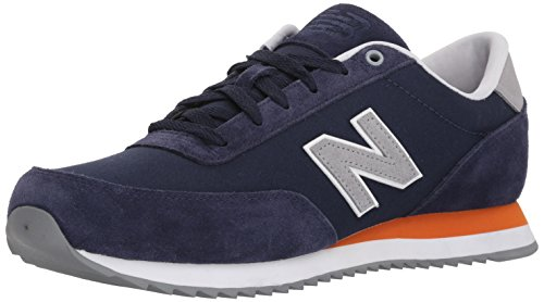 New Balance Herren 501v1 Ripple Turnschuh, Pigment/Varsity Orange, 52 EU