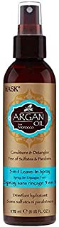 Hask Argan Oil from Morocco 5-in-1 Leave in Spray 6 oz Pack of 6