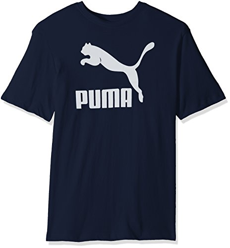 PUMA Men's Archive Life T-Shirt, Peacoat/White, Small