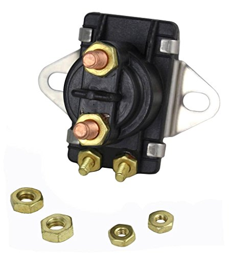 NEW STARTER SOLENOID COMPATIBLE WITH MERCURY MARINER 35HP 40HP 50HP 60HP 70HP 75HP 89-96158