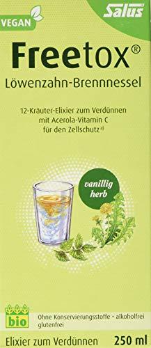 Freetox® Löwenzahn-Brennnessel 12-Kräuter-Elixier zum Verdünnen bio (0.25 L)