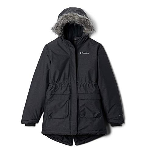 Columbia Nordic Strider, Chaqueta de invierno impermeable, Niña, Negro (Black) Talla XXS