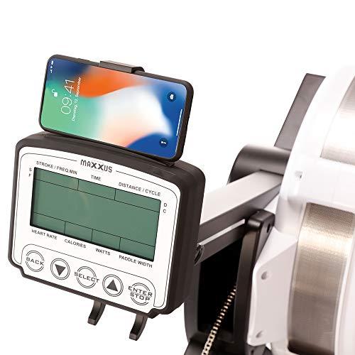 MAXXUS AirRow Rower Rudergerät Smartphone Halterung