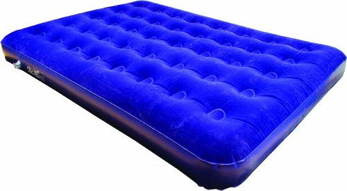 Highlander Colchón Hinchable de Matrimonio, Sleepeze Doppelluftmatratze/Doppelluftbett Blau, Azul, 185x137x20 cm