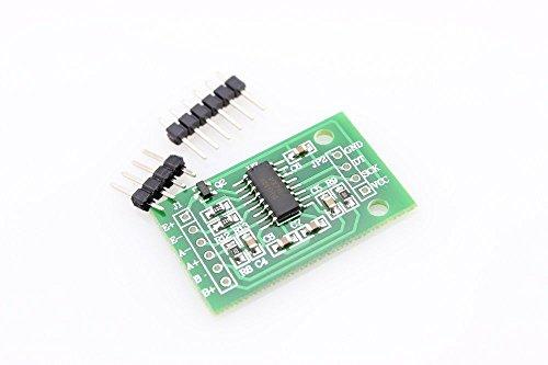Módulo ADC HX711 celda carga balanza sensor peso peso peso presión (arduino-compatible)
