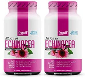 Echinacea 2 Pack Strongest DNA Verified Healthy Immune System Physical Mental Health Potent product image