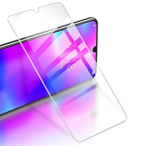 RIWNNI [3 Stück Panzerglas für Huawei Y6 2019/Y6s/Honor 8A, 9H Festigkeit Panzerglasfolie, HD Klar Bildschirmschutz Glas Folie 0.25mm Ultra Dünn Schutzfolie Blasenfrei für Huawei Y6 2019/Y6s - Transparent