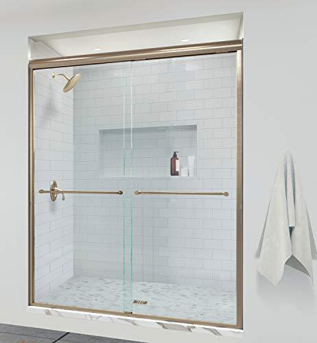 Basco INFH05A5870CLBG shower door, Brushed Gold
