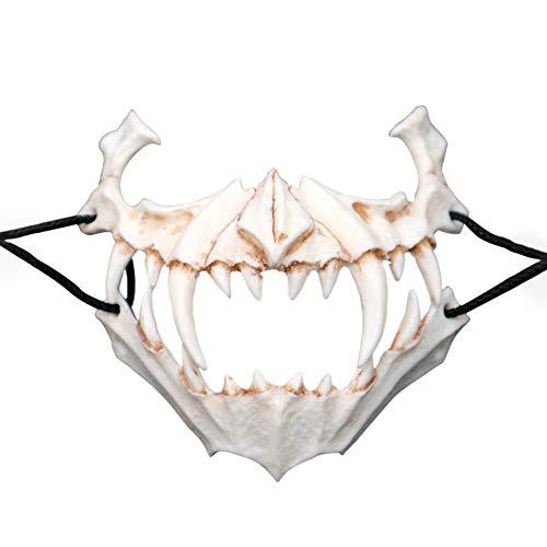 Breeezie Zweidimensionale Dress Up CO Drachengott Tiger Yasha Tengu Maske Harz Halloween