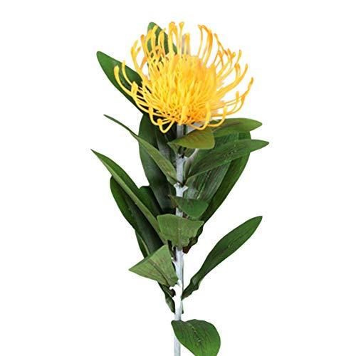 WILLBOND 6 Piezas de Vides de Rosa Artificial Guirnaldas de Flor de Seda Plantas Colgantes para Decoraci/ón de Hogar al Aire Libre Boda Arco Jard/ín Pared 2 Estilos