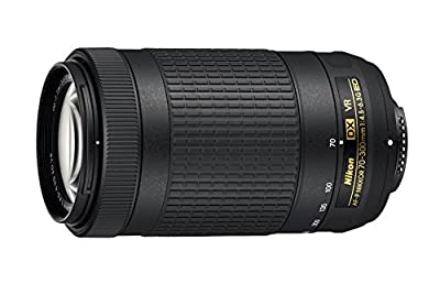 Nikon CRTNK70300KRB 70-300mm f/4.5-6.3G VR DX AF-P ED Zoom-NIKKOR Lens - (Renewed) by Nikon