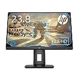HP 24x ゲーミングモニター 23.8インチ マイクロエッジ 1ms 144Hz