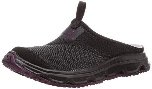 Salomon RX Slide 4.0 W, Calzado de recuperación Mujer, Negro (Black/Black/Potent Purple),...