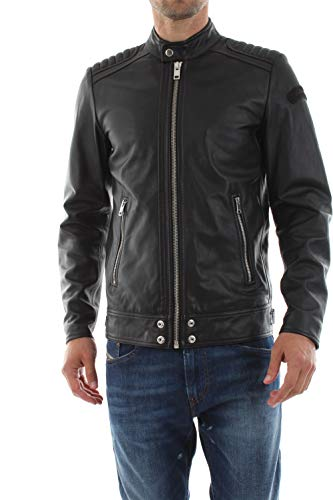 DIESEL- Shiro-wh Jacket Giacca, Nero (Black 900), Small Uomo