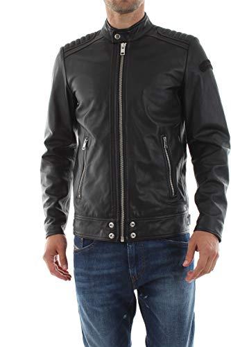 Diesel Herren L-Shiro-Wh Jacket Jacke, Schwarz (Black 900), Medium (Herstellergröße: M)