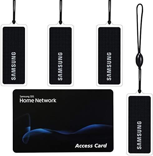 Samsung RFID Tag Key for Samsung Door Locks Quantity 4 + 1 RFID Card