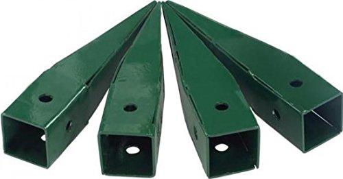 Gardman 07715 Ground Spikes for the Elegance Wooden Arch 07713 / 07717 Green