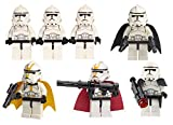 LEGO Accessories: Clone Trooper Special Ops Army - 7 Clones