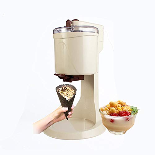 Eismaschinen für zu Hause , Heimgebrauch Eismaschine Haushalt Elektrische Eisbecher-Maschine Automatische Frucht Mini Eistüten