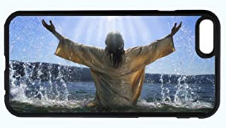 Jesus Baptize Baptism God Christian Bible Phone Case Cover - Select Model (Galaxy S3)