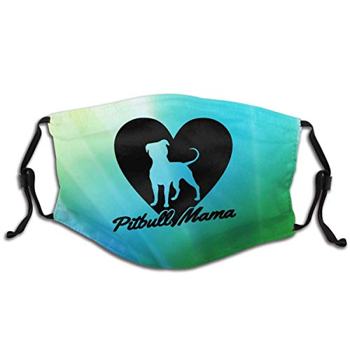 Pitbull Mama Dog Lover Gift Children's Kids Mask Classic Breathing Mask