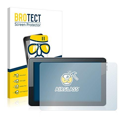 BROTECT Panzerglas Schutzfolie kompatibel mit Ninetec Platinum 10 - AirGlass, extrem Kratzfest, Anti-Fingerprint, Ultra-transparent
