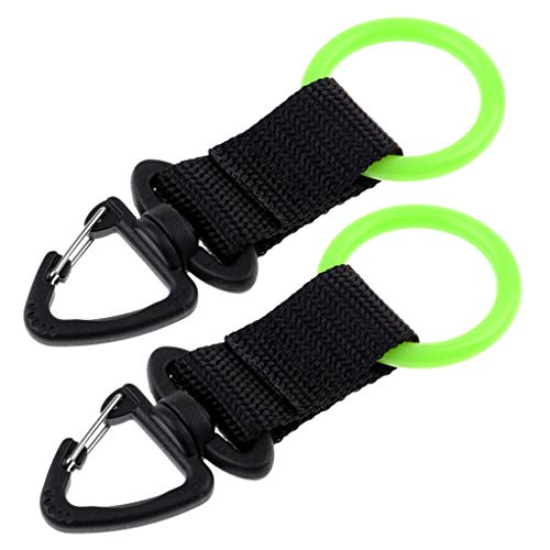 MMI-LX 2pcs Buceo Correas Regulador Octopus Holder Boquilla de retención Accesorios for Piscinas Lago Bay Deportes de Aventura Diver (Color : Green)