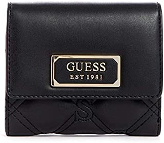 GUESS Womens Wallets, Black - VG745043