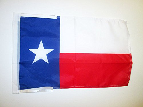 AZ FLAG Flagge Texas 45x30cm mit Kordel - Bundesstaat Texas Fahne 30 x 45 cm - flaggen Top Qualität