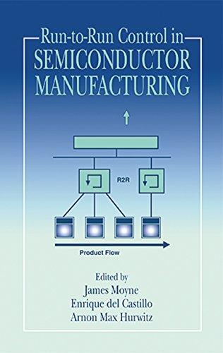 Run-to-Run Control in Semiconductor Manufacturing (English Edition)