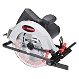 Electric Corded Circular Saw 10 Amp 7-1/4 In. Blade With Bevel Cut 0° to 45°