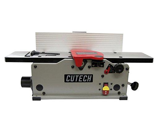 Cutech 40160HC-CT 6' Bench Top Spiral Cutterhead Jointer with Carbide Tips