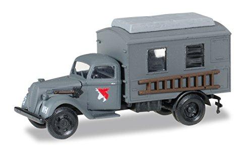 Herpa 745635 - Ford 997 Koffer-LKW - Leitung Fernmeldebatallion XXI. Armeekorps der Wehrmacht