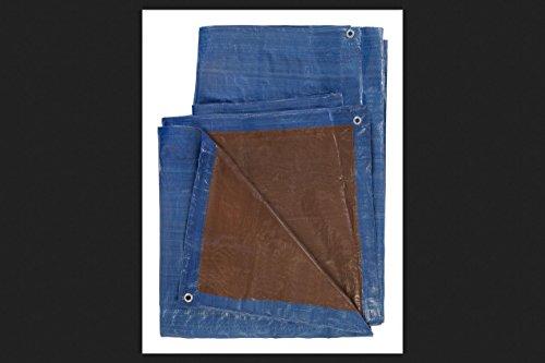 Poly Tarp 16x20 Blue/Brn