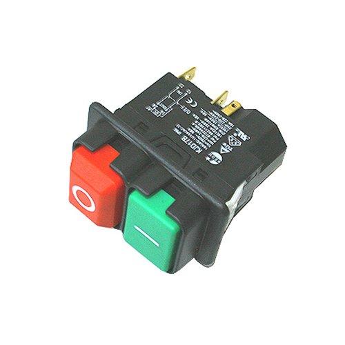 ATIKA Ersatzteil | Ein-/Aus Schalter 230V für Betonmischer BM/Comet/Dynamic/Expert/Mix/M/Format/Profi/SX/Gartenhäcksler GHD 2800 / ALA 2800