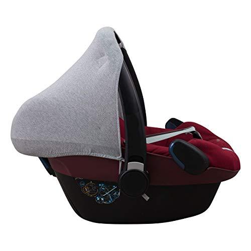JANABEBE Capota compatible con Maxi-Cosi Pebble Bebe Confort (GREY STONE)