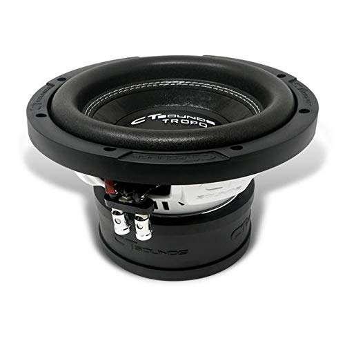 CT Sounds TROPO-8-D4 8 Inch Car Subwoofer Dual 4 Ohm, 800 Watts Max