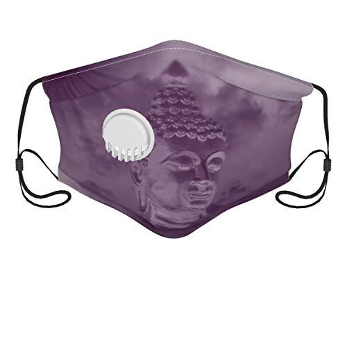 Doormat bikini Buddha Reusable Face Bandanas- Activated Carbon Filter- Replaceable Haze Dust Face Health Protection