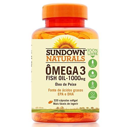 Fish Oil Óleo de Peixe 1000mg Sundown 320 cápsulas