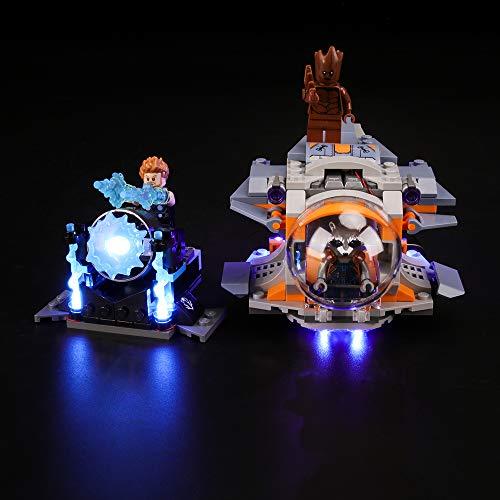 BRIKSMAX Kit Iluminación Led Lego Super Heroes Aventura