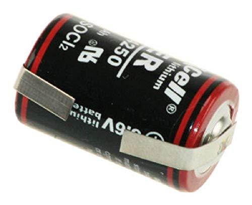 Kraftmax Lithium 3,6V Batterie LS14250 1/2 AA - Zelle LF U-Form