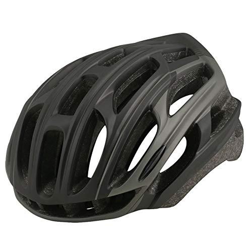XYW Casco Adulto Casco de Ciclismo - Mountain Road Bike Masculino y Femenino Casco de Ciclismo Ultralight 4D Casco de Seguridad con Noche de Montar a Caballo Ligero (Color : D)