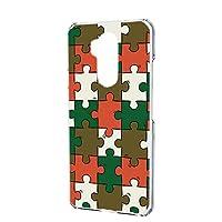 スマホケース ハードケース Y!mobile Android One X5 用 [パズル柄・ベーシック] おもしろ ゲーム パロディ ワイモバイル アンドロイド SIMフリー スマホカバー 携帯ケース 携帯カバー [FFANY] puzzle_aao_h190732