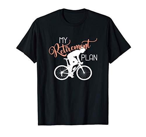MTB Mountain Bike Racing - My Retirement Plan Bicycle T-Shirt