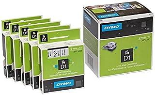 noir sur transparent bande de marquage police Cassette de ruban pour Labelpoint 250 7/mtr. 9/mm pour DYMO LabelPOINT 250 ruban