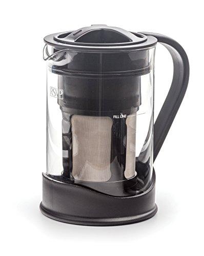 RSVP International (C-BREW) Compact Cold Brew Coffee Maker,...