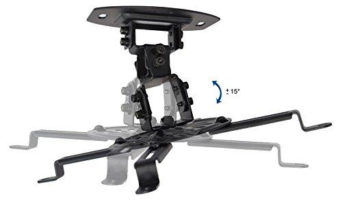 VIVO Universal Adjustable Ceiling Projector, Projection Mount Extending Arms, Black, MOUNT-VP01B Photo #4