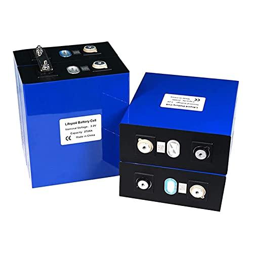 4pcs 3.2v 271ah BateríA de Fosfato de Hierro y Litio Lifepo4 Celdas para el Hogar Sistema De Almacenamiento de EnergíA Solar RV Lifepo4 BateríA o RV, Marina