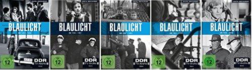 Blaulicht Box 1-5 (1+2+3+4+5) / DVD Set (DDR TV-Archiv) / Die komplette Serie