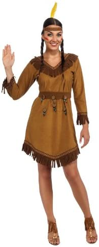 Rubie s Woman s Native American Costume Brown One Size product image
